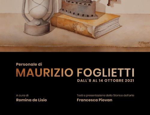 Personale dell'artista Maurizio Foglietti